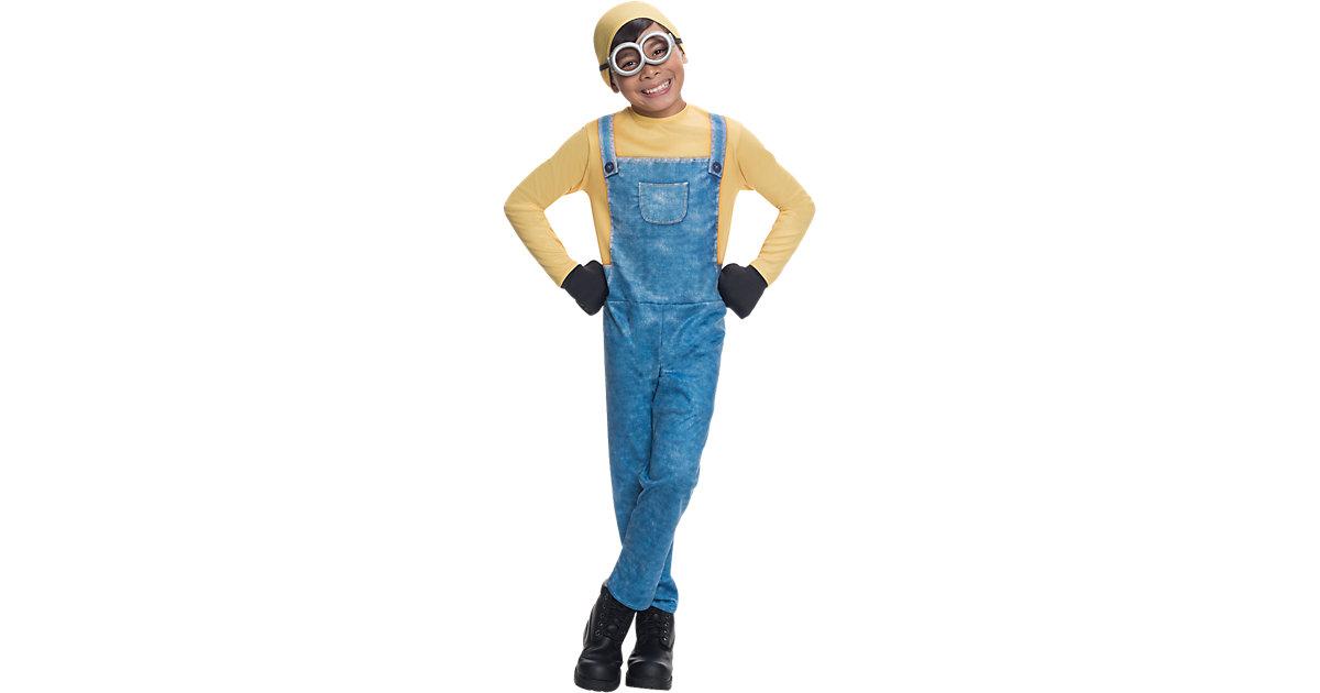 Kostüm Minion Bob blau/gelb Gr. 104 Jungen Kleinkinder