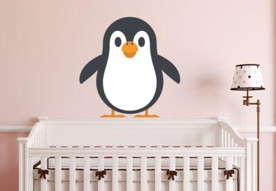 Pinguin-Motive, 40 St/ück Namensaufkleber Kinder