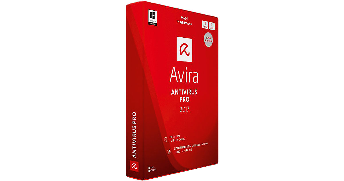 PC Avira AntiVirus Pro 2017 - 1 Gerät