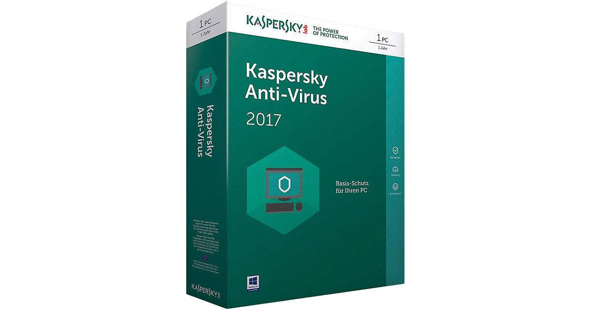 PC Kaspersky Anti-Virus 2017 Upgrade