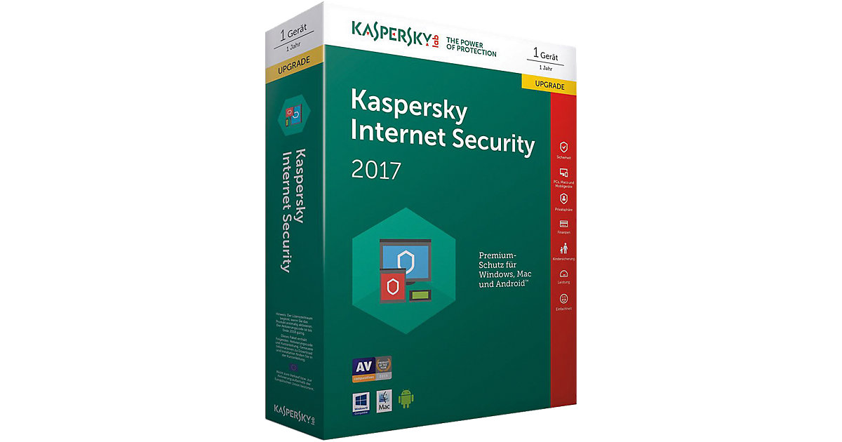 PC Kaspersky Internet Security 2017 Upgrade