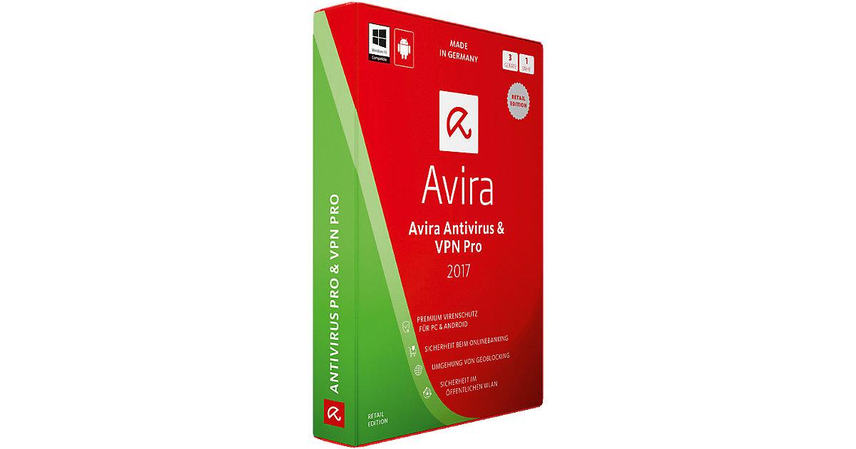 PC Avira AntiVirus & VPN Pro 2017 - 3 Geräte