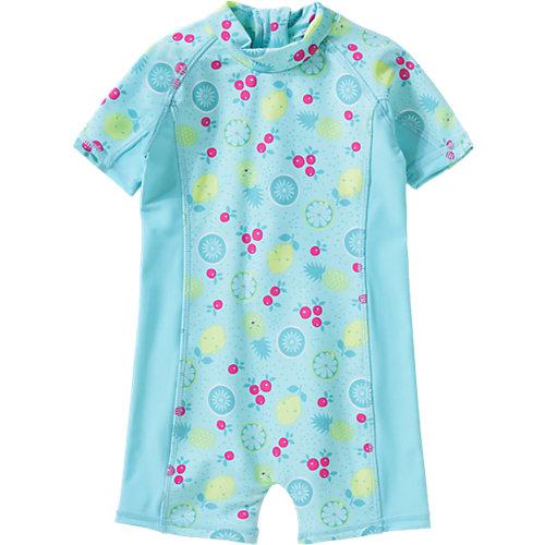 Baby Schwimmanzug mit UV-Schutz für Mädchen, Ananas Gr. 80 Jungen Baby | 04056178585173
