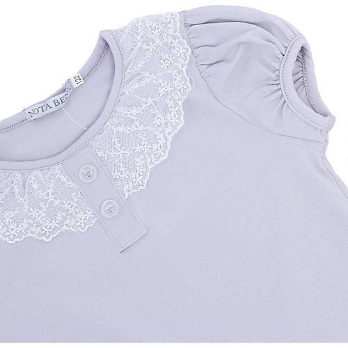 Блузка Nota Bene для девочки - серый от Nota Bene