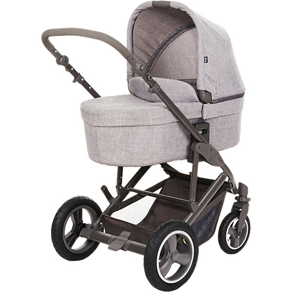 Kombi Kinderwagen Catania 4 Air, woven grey, 2018