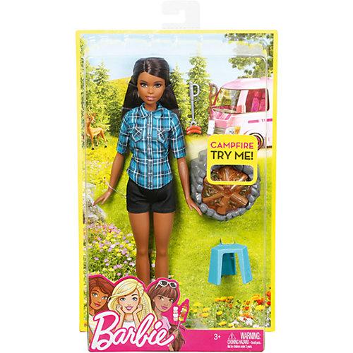 Кукла Barbie у костра, Брюнетка от Mattel