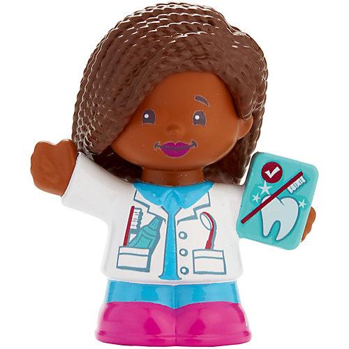 Базовая фигурка Fisher-Price Little People Дантист Audrey от Mattel