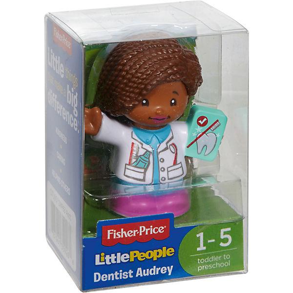 Базовая фигурка Fisher-Price Little People Дантист Audrey