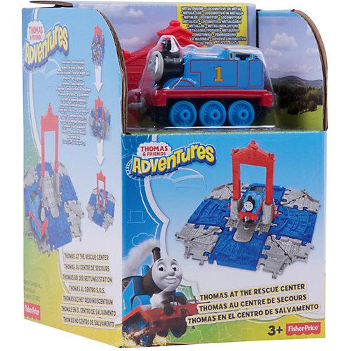 """Переносной набор Томас и его друзья """"Куб"""" Томас в спасательном центре, от Mattel"""