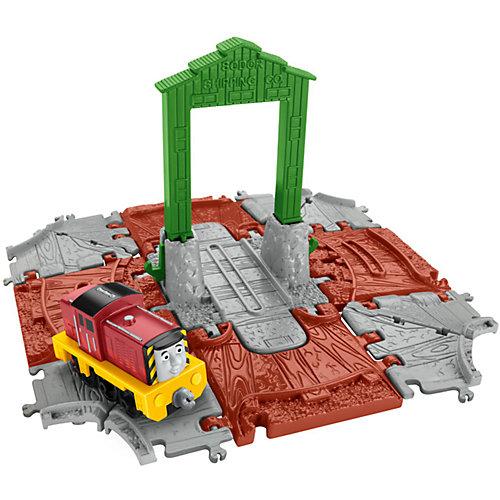 """Переносной набор Томас и его друзья """"Куб"""" Солти в доках от Mattel"""