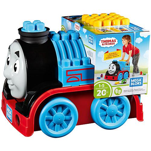 Большой паровоз - конструктор, MEGA BLOKS Томас и друзья от Mattel