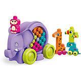 """Конструктор Mega Bloks """"Неуклюжий слон"""", фиолетовый"""
