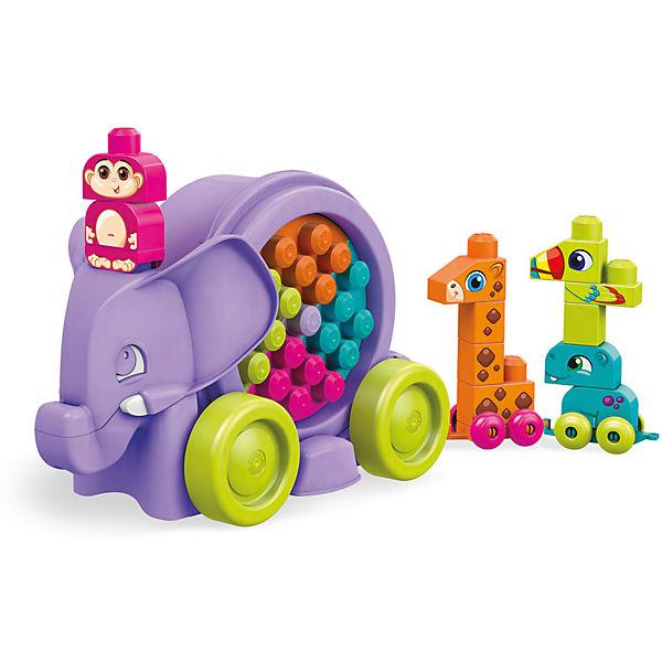 Mega Bloks Lustige Elefantenparade (lila), MEGA BLOKS