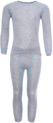 Комплект термобелья OLDOS ACTIVE для мальчика - светло-серый