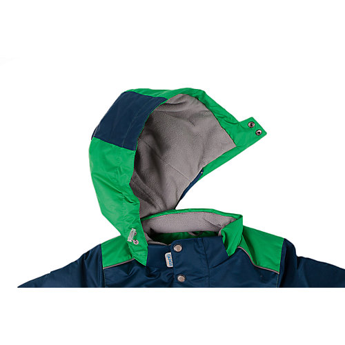 """Комплект Oldos Active """"Ларс"""": куртка и полукомбинезон - зеленый от OLDOS"""