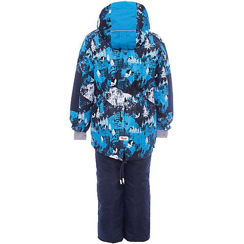 """Комплект Oldos Active """"Коналл"""": куртка и полукомбинезон - синий от OLDOS"""