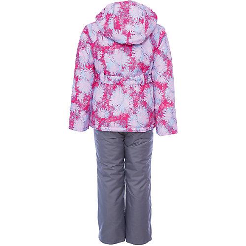 """Комплект Oldos Active """"Николь"""": куртка и полукомбинезон - розовый от OLDOS"""