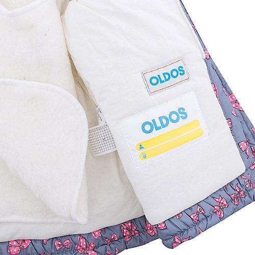 """Комплект Oldos Active """"Арина"""": куртка и полукомбинезон - серый от OLDOS"""