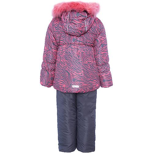 """Комплект Oldos Active """"Берта"""": куртка и полукомбинезон - розовый от OLDOS"""