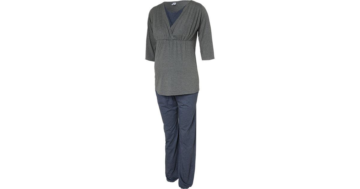 Stillschlafanzug Wellness grau Gr. 34/36 Damen Kinder