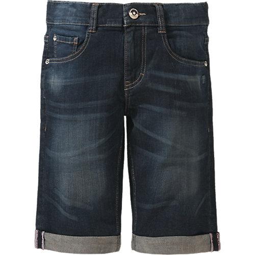 Jeansshorts BOB Regular Fit mit gekrempeltem Saum , Bundweite BIG Gr. 146 Jungen Kinder | 04056746817354