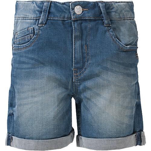 Jeansshorts SUE Tight Fit , Bundweite BIG Gr. 128 Mädchen Kinder | 04056746823591
