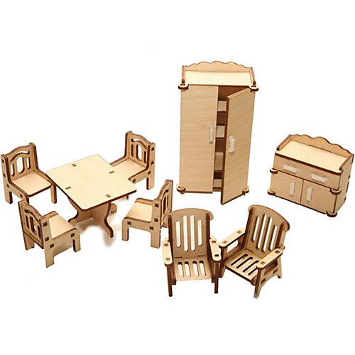"""Деревянный набор мебели ХэппиДом """"Зал"""" от ХэппиДом"""