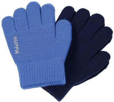 Перчатки Huppa Levi 2, 2 пары для мальчика - синий