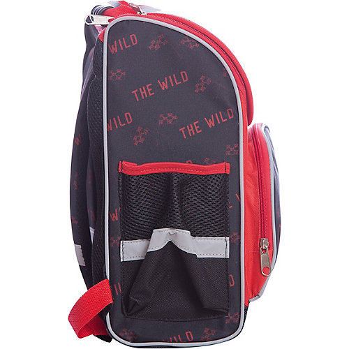 Ранец Premium box полужесткий с дизайном Мото от Limpopo