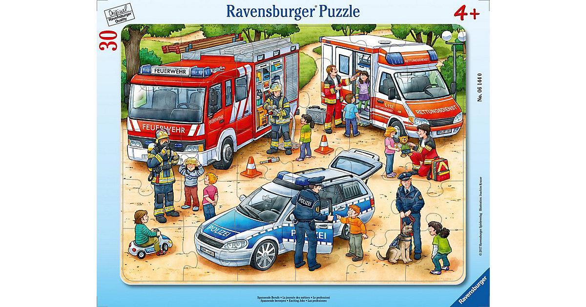 Rahmen-Puzzle, 30 Teile, 32,5x24,5 cm, Spannende Berufe