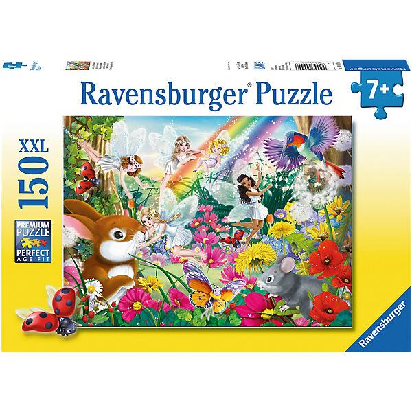 Puzzle 150 Teile XXL Schöner Feenwald, Ravensburger