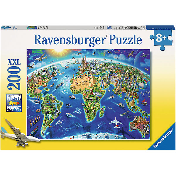 Große, weite Welt 200 Teile XXL Puzzle, Ravensburger