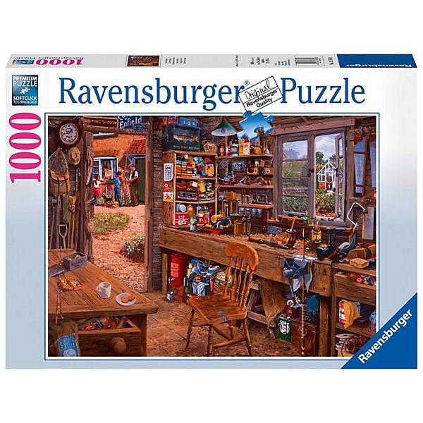 Opas Schuppen 1000 Teile Puzzle, Ravensburger