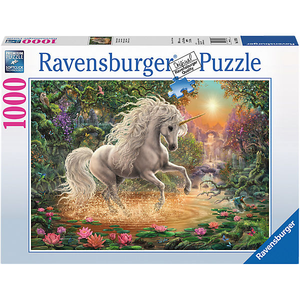 Puzzle 1000 Teile 70x50 Cm Mystisches Einhorn Ravensburger