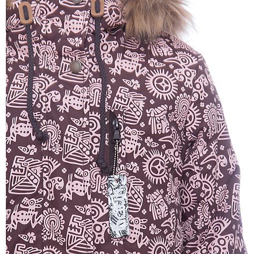 Куртка Мэй Batik для девочки - коричневый от Batik
