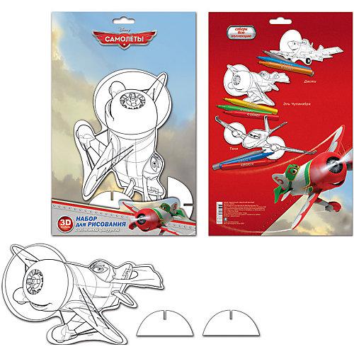 Набор для рисования с фигуркой и фломастерами Disney Самолеты от Limpopo