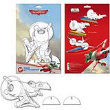 Набор для рисования с фигуркой и фломастерами Disney Самолеты