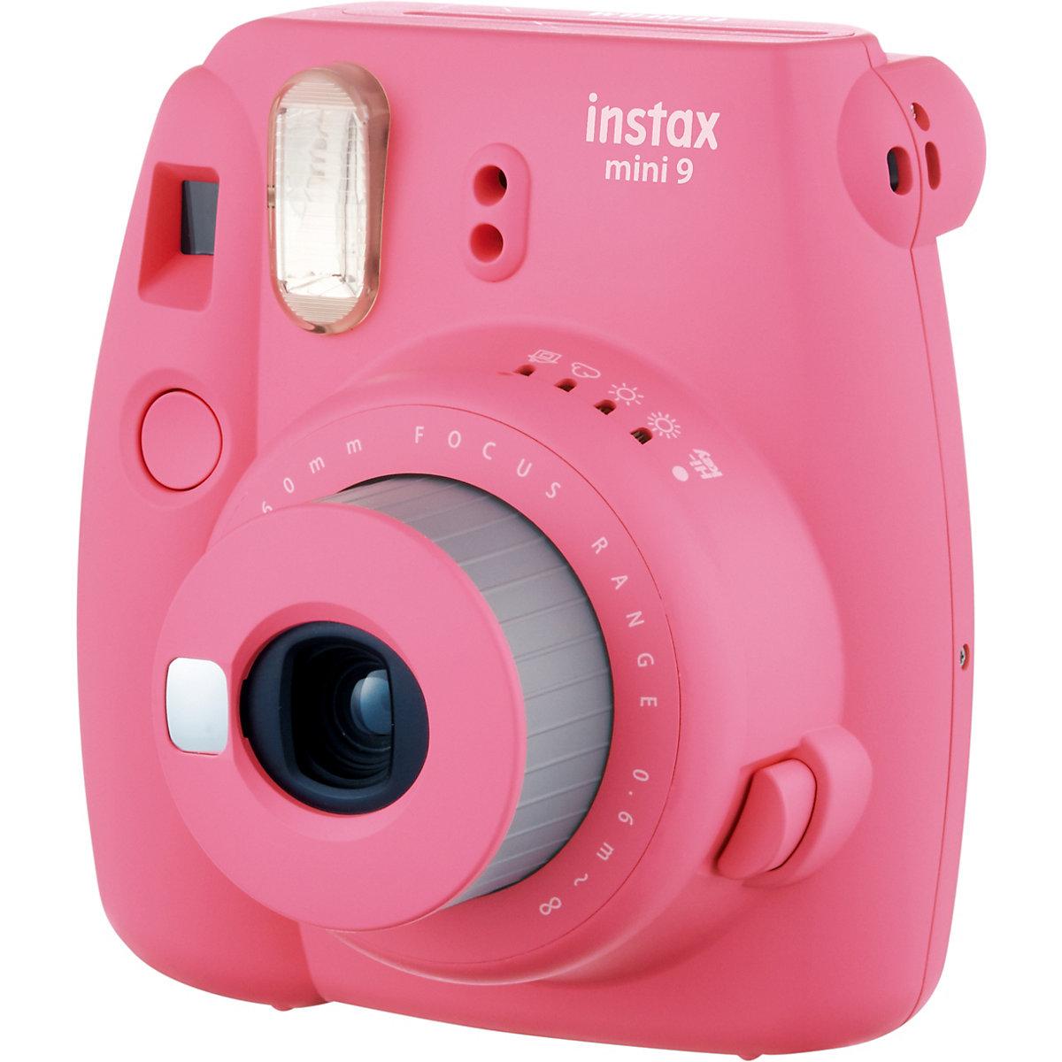 Am billigsten Instax Sofortbildkamera mini 9 - flamingorosa, FUJIFILM   OV2vB
