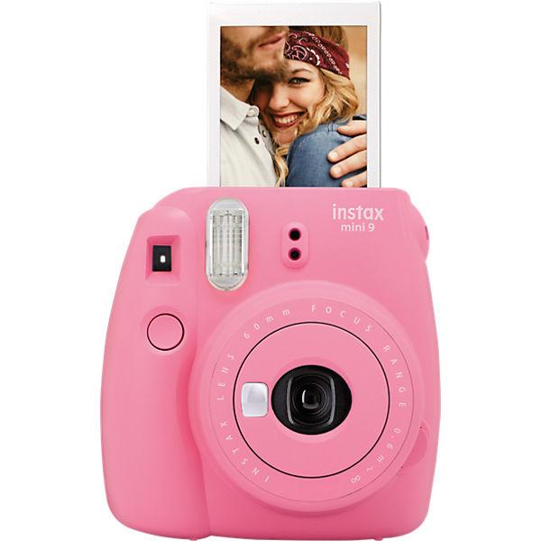 Instax Sofortbildkamera mini 9 - flamingorosa, FUJIFILM 5Xa7oq