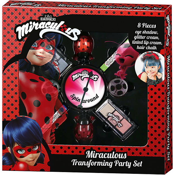 Miraculous Transforming Party Set, Miraculous