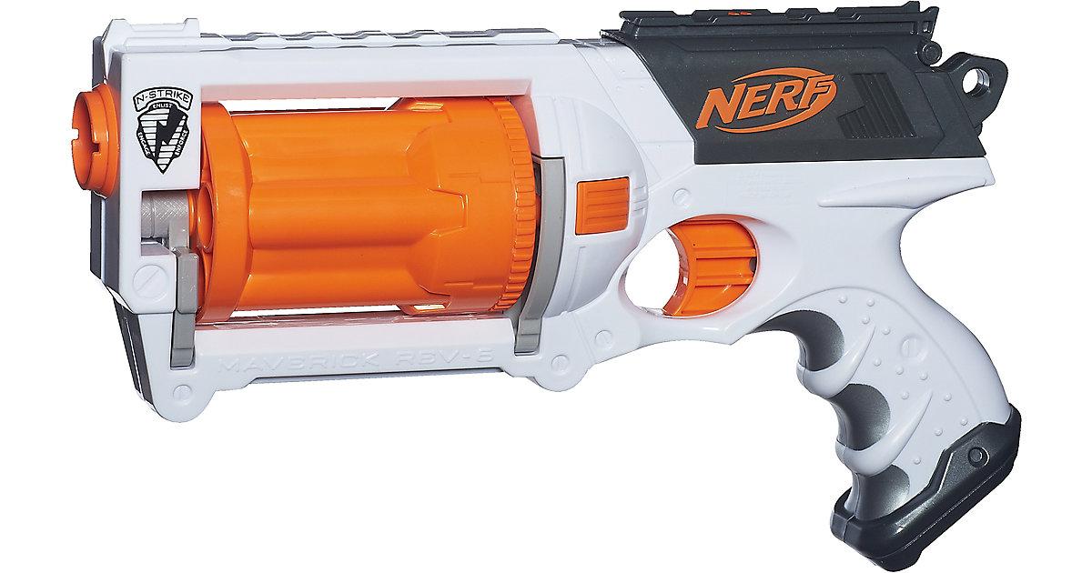 Blaster Nerf N-Strike Maverick REV-6 mit 6 Darts