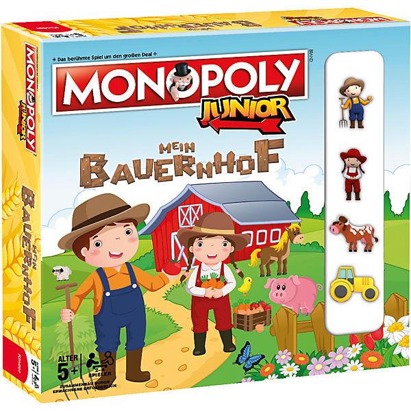 Monopoly Junior - Mein Bauernhof, Winning Moves