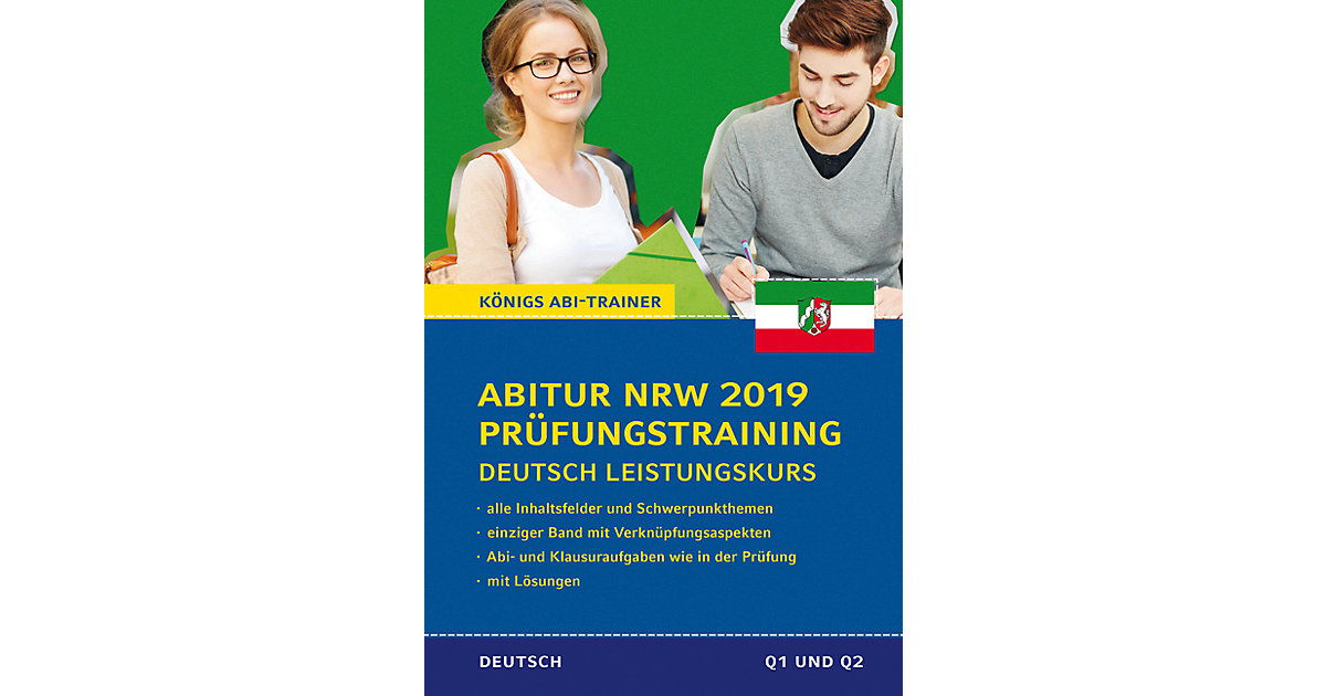 Abitur NRW 2019 Prüfungstraining - Deutsch Leis...