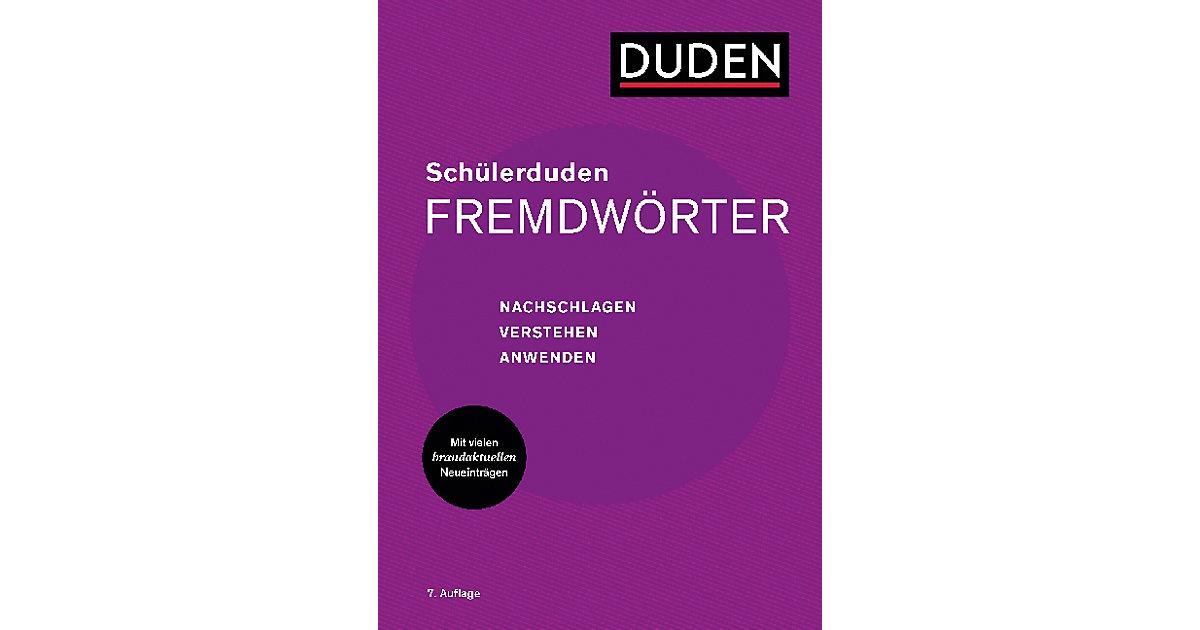 (Duden) Schülerduden: Schülerduden Fremdwörter