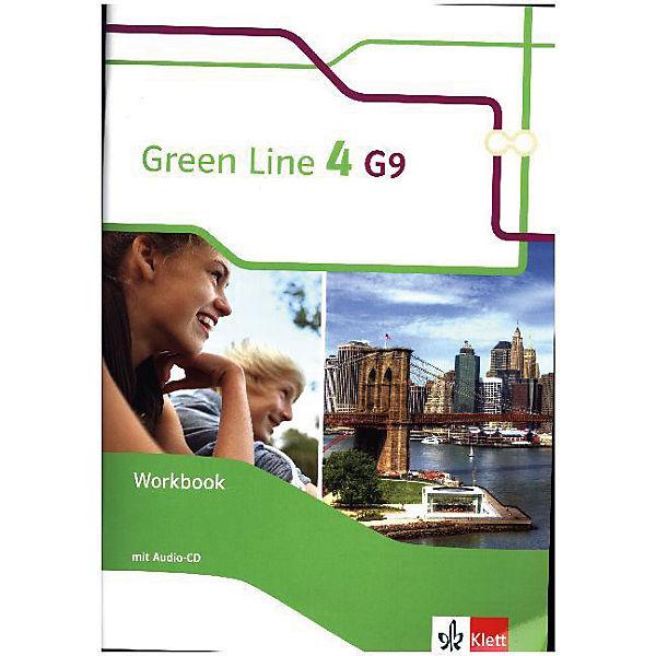 green line g9 ausgabe ab 2015 8 klasse workbook mit 2. Black Bedroom Furniture Sets. Home Design Ideas