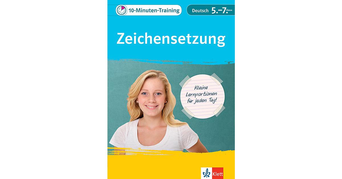 10-Minuten-Training Zeichensetzung