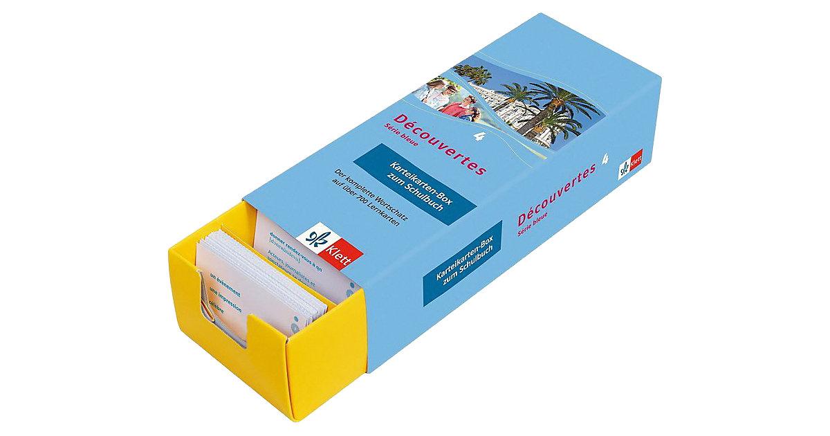 Découvertes - Série bleue: Karteikarten-Box zum...