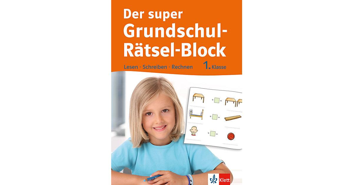 Der super Grundschul-Rätsel-Block, 1. Klasse