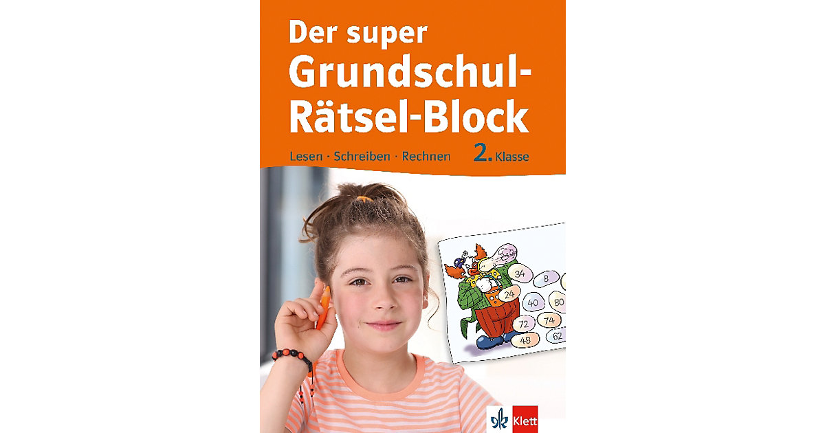 Der super Grundschul-Rätsel-Block, 2. Klasse