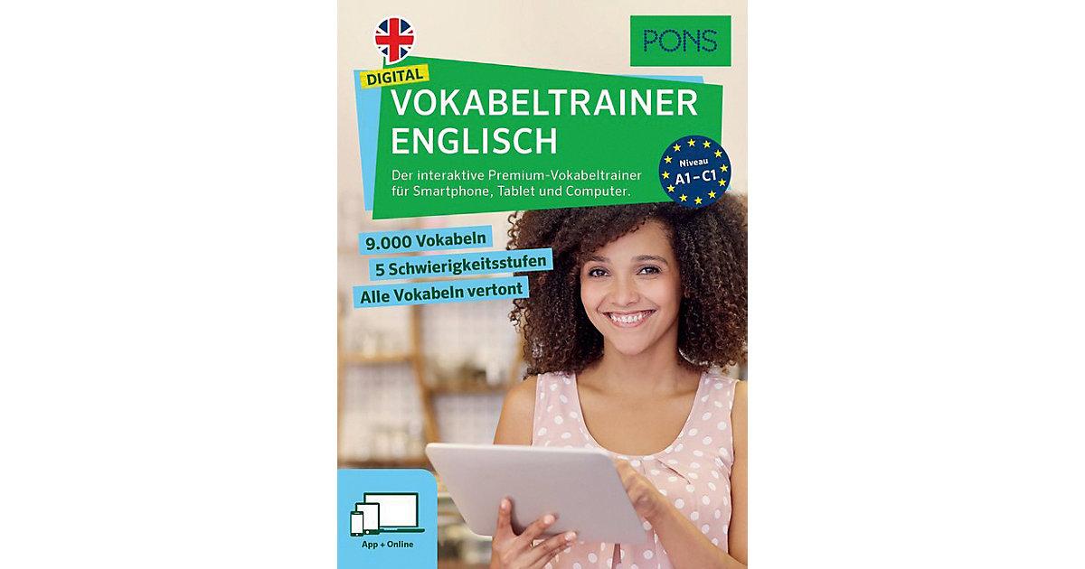 PONS Digital Vokabeltrainer Englisch, App + Onl...
